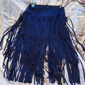 Amazing fringe skirt